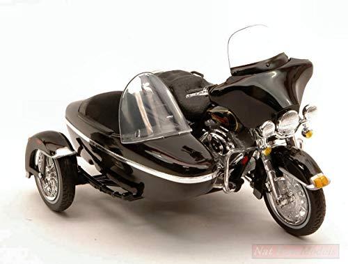 Maisto Model Compatible con Harley Davidson 1998 FLHT Electra Glide Standard C/Sidecar...