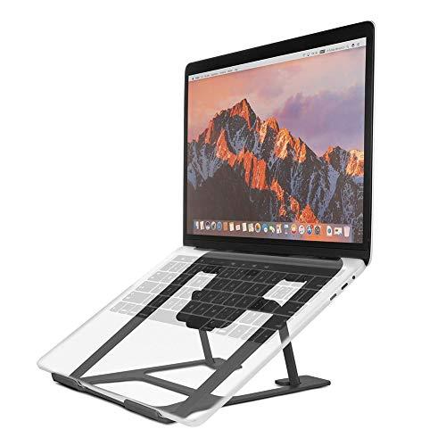 CLEAVE WAVES Laptop Standaard, Gekantelde Laptop Riser, Aluminium Notebook Koeling Platform, Opvouwbare Draagbare Notebook Houder Stand