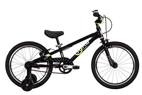 "BYK E-350B Boys 18"" Bike Midnight Black"