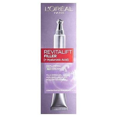 L'Oréal Revitalift Filler Renew Hyaluronic Acid Eye Cream, 15ml