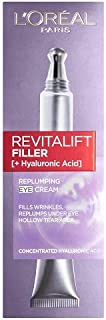 LOreal Paris Revitalift Filler Crema de Ojos con Ácido Hialurónico 15 ml