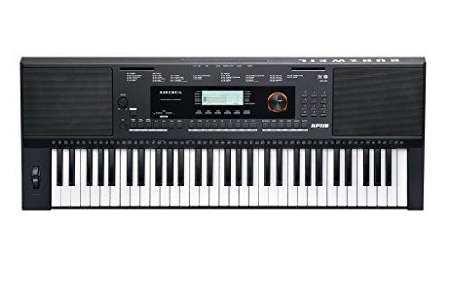 Kurzweil - Teclado portátil Home KP110 de 61 notas con asis