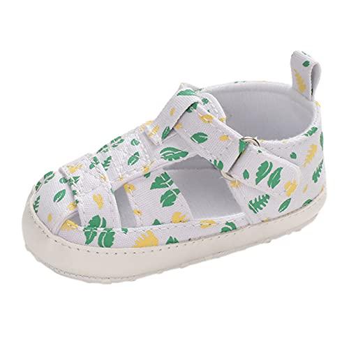 YWLINK Sandalias Huecas De Suela Blanda Para NiñAs,Zapatos Casuales Multicolores Para NiñOs PequeñOs De Comercio Exterior Sandalias De Velcro Transpirables Zapatos De Playa Casuales Para Bebé