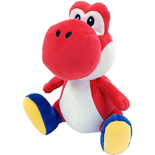 Little Buddy 1389 Super Mario All Star Collection Red Yoshi Plush, 7'