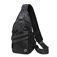 1.Large capacity design, can put down iPad, wallet, mobile phone, charger, key, notebook, headset and other items, layered reasonable, so that your items are placed in order 2.Adjustable shoulder strap can be used as shoulder bag, Messenger Bag and h...