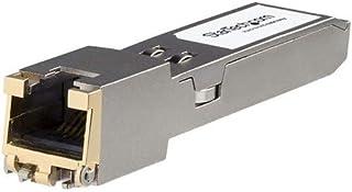 StarTech.com HPE JL563A Compatible SFP+ Module - 10GBASE-T - SFP to RJ45 Cat6/Cat5e - 10GE Gigabit Ethernet SFP+ - RJ-45 3...