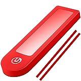 Q P Quality Printing 3D Vestigia® - Cubierta de Goma para Xiaomi M365 Accesorios para la Lluvia para Pantalla del Salpicadero - Accesorio