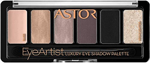 Astor EyeArtist Luxury Eye Shadow Palette, 300 Rosy Greys,1er Pack (1 x 6 g)