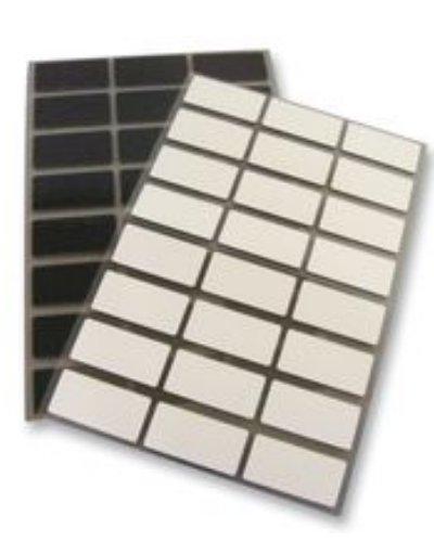 パンドウイット 熱転写プリンター用ラベル プッシュボタン用銘板ラベル 幅30.5x38.1mm 厚みのある銘板ラベル 屋内外 黄 3 枚/列 500 枚入 C120X150A8T-22