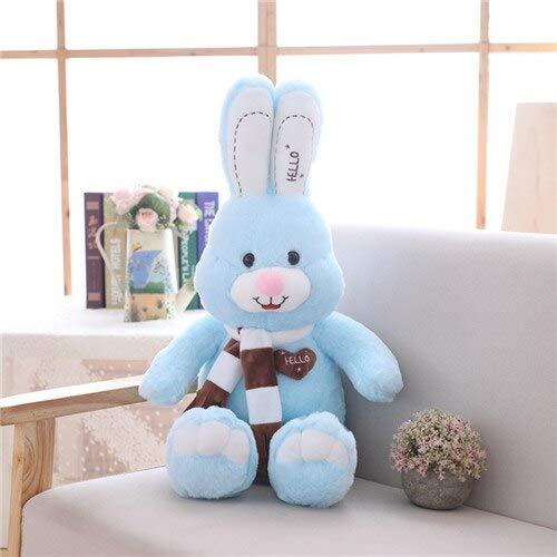 AYQX 80-100cm tamaño Grande Lindo Conejo de Peluche de Juguete Relleno Suave muñeca de Conejo bebé Juguetes para niños Juguete Animal bebé niños cumpleaños 100 cm Azul
