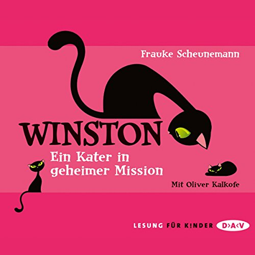 Ein Kater in geheimer Mission (Winston 1) audiobook cover art