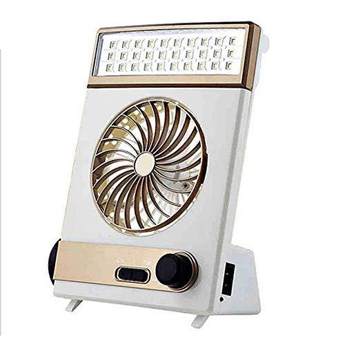 NCBH Mini-ventilator, multifunctioneel, draadloos, 1200 mAh, oplaadbaar, handventilator voor kantoor en thuis