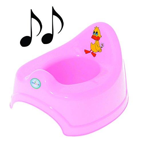 Potty Training - Vasino musicale per bambini, semplice da pulire