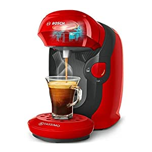 TASSIMO by Bosch Style TAS1103GB Automatic Coffee Machine Red