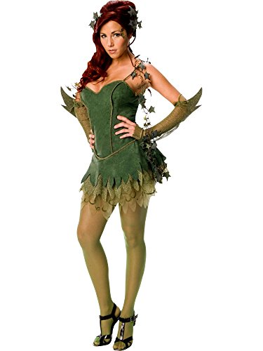 Rubie's Officieel dameskostuum Poison Ivy Batmanjurk, volwassenen kostuum, maat M (36-40)