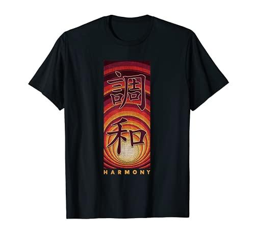 Kanji Kalligrafie Japanese Japanisches Schriftzeichen T-Shirt