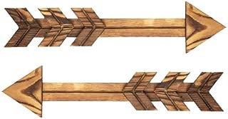 6-Pack 9184-09 Darice Bulk Buy DIY Wood Plaque Arrow 13.75 x 3.75 inches