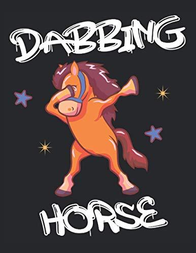 Danza cavallo tamponando cavallo: Notebook |Notebook |Cavallo |Pony |Dabbing
