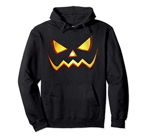 Calabaza Terror Disfraz Halloween Hombre Mujer Niños Niñas Sudadera con Capucha