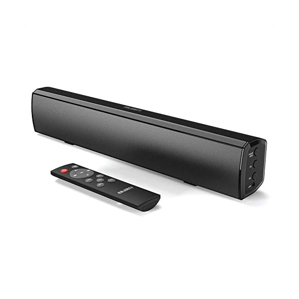 Majority Bowfell Small Sound Bar for TV with Bluetooth, RCA, USB, Opt, AUX Connection, Mini Sound/Audio System for TV…
