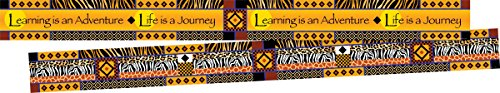 Barker Creek Double-Sided Border 2 Pack - Africa (BC3664)