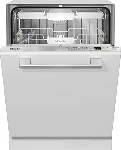 Miele G 5055 SCVi XXL Active vollintegrierter Geschirrspüler 85cm, 5 Programme, ab 6L, Besteckschublade, QuickPowerWash, Edelstahl