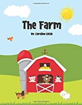 The Farm: A silly and fun colorful rhyming book for kids ages 1-4