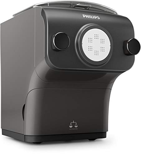 Philips Pasta Maker Plus Smart Avance Fully Automatic with Integrated Scale, 8 Shaping Discs, 600g Capacity, HR2382/16