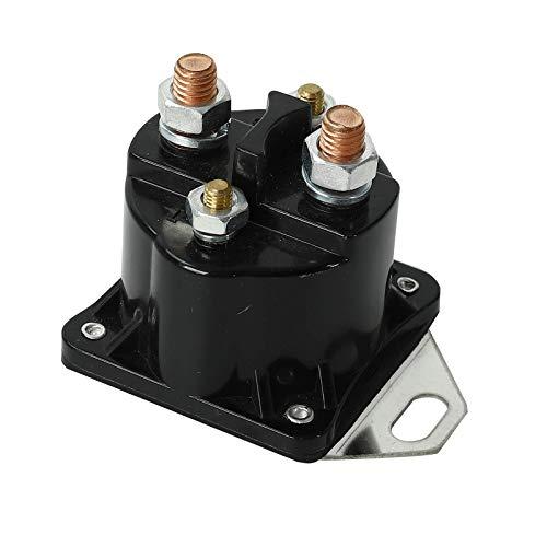 yjracing Glow Plug Glowplug Relay Solenoid Fit for Ford 7.3L Powerstroke Diesel F81Z-12B533-AC Black