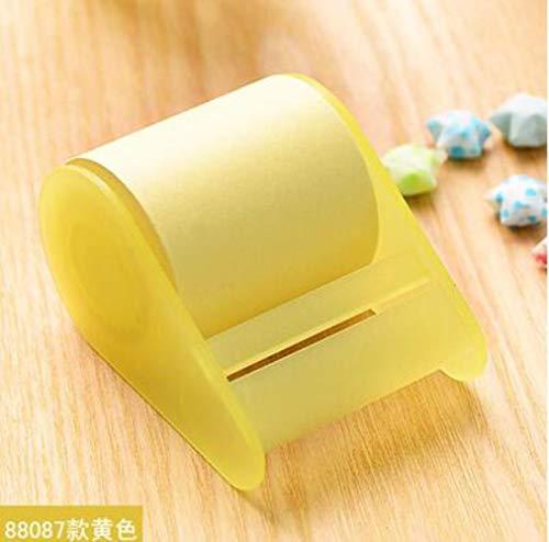 MALAT Kawaii Fluorescent Paper Sticker Memo Pad Stationery Mini Office Xpress Can Tear Sticky Notes,D