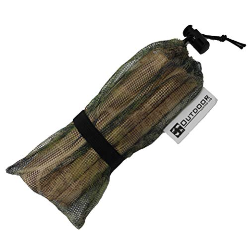 Outdoor Hunting Lab Deer Rattle Bag - Hunting Call with Mesh Bag - Weather Resistant & 100% Authentic Deer Antler Rattling Sound