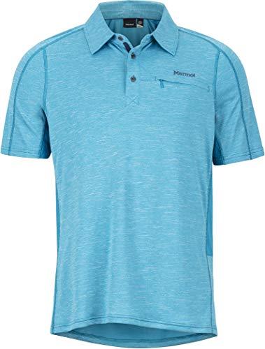 Marmot Drake SS Polo heren Turks Tile 2019 shirt met korte mouwen
