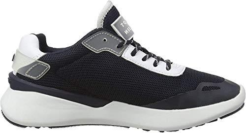 Tommy Hilfiger Damen Tommy Sporty Runner Sneaker, Blau (Desert Sky Dw5), 39 EU