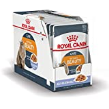 ROYAL CANIN Intense Beauty Comida para Gatos - Paquete de 12 x 85 gr - Total: 1020 gr
