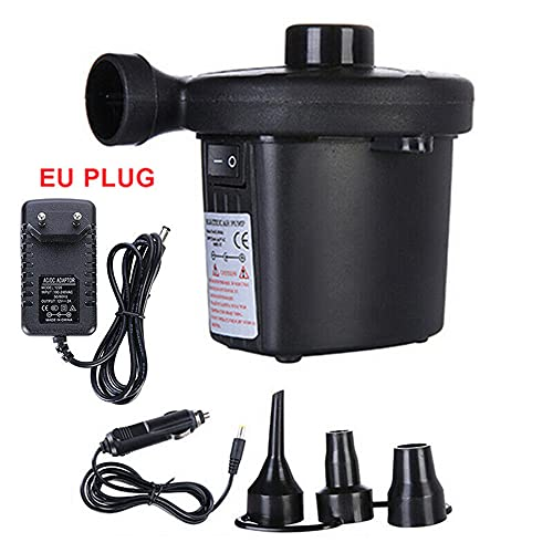 ATING Bomba eléctrica 2-1 Bomba de aire eléctrica Bomba de soplador 12V 230V 3 Adaptador