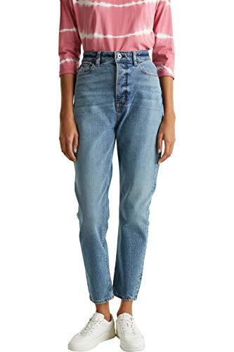 edc by ESPRIT Damen 030CC1B327 Jeans, 902/BLUE MEDIUM WASH, 28/28