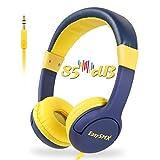 EasySMX Casque Audio Enfant avec Limiteur de Volume, Casque de Protection Oreilles Confortable pour Enfant...
