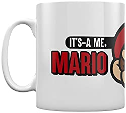 Amazing super Mario themed mug Perfect gift for super Mario fans. Super Mario - it's a me Mario - mug