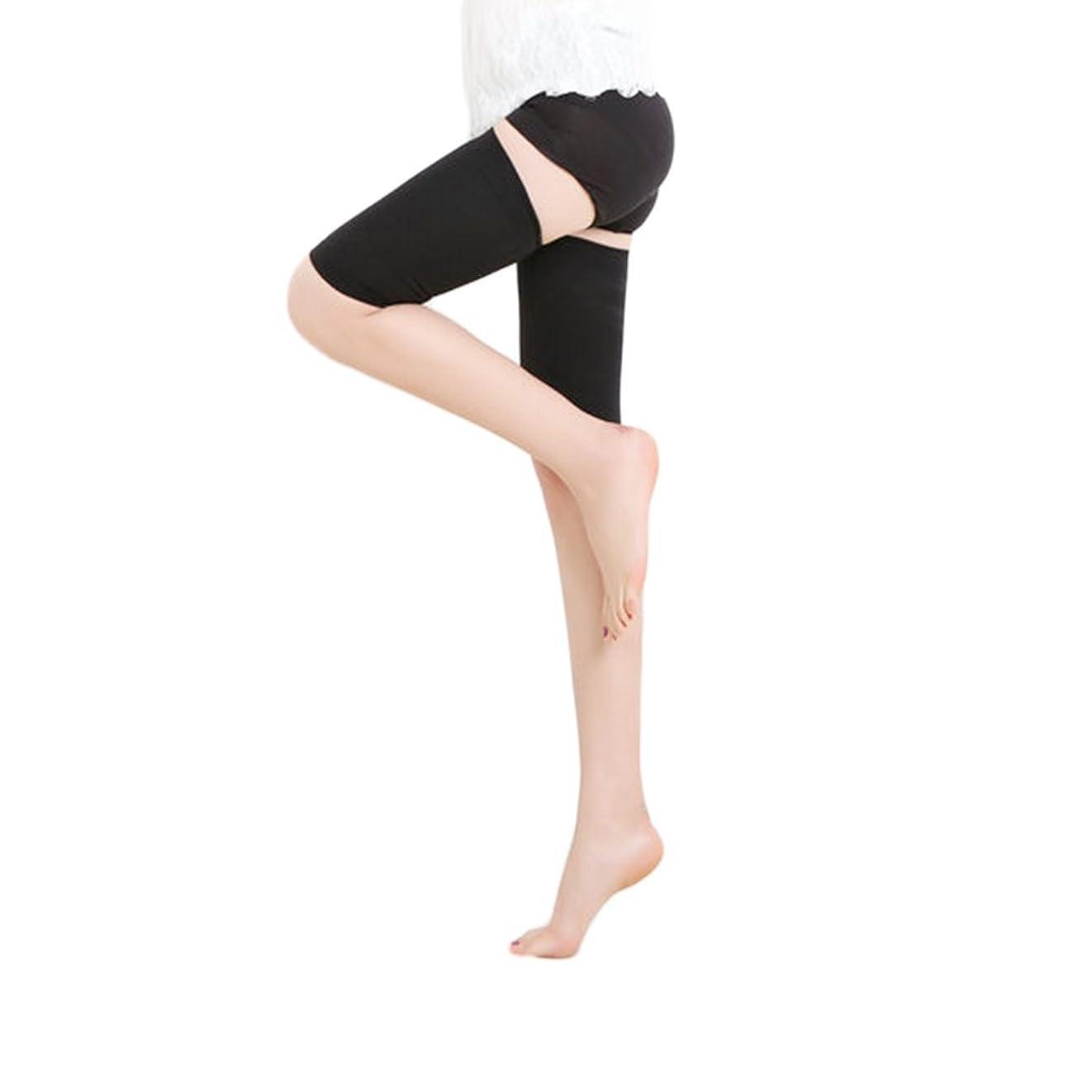 立方体献身カストディアンMEJORMEN 加圧 太ももサポーター 着圧ソックス 段階式圧力設計(30-40mmHg) 痩せ 筋肉質 美脚ケア 保温 通気性 太ももの疲れ?むくみ解消 1足 男女兼用 2色 M~XL