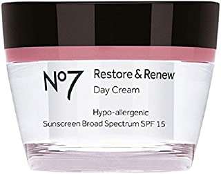 Boots No7 Restore and Renew Day Cream, SPF 30 1.69 Ounce