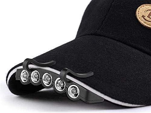 HUIZHANG Headlamp LED Hat Clip Bargain Light Max 81% OFF Lamp and Portable Cap
