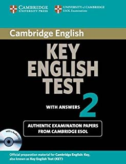 Cambridge Key English Test 2 Self Study Pack: Examination Papers from the University of Cambridge ESOL Examinations (KET P...