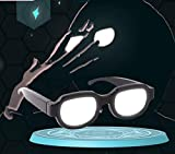 H!FINE Anime Detective Conan Case Closed Cosplay Party Light-Up LED Glasses Novelty Funny Electronics Toys