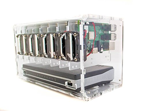 Cloudlet CASE: for Raspberry Pi and Other Single Board Computers (Clear)
