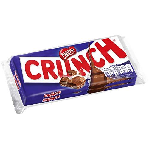 Nestlé Crunch - Chocolat au Lait et aux Céréales - 2 tablettes de 100g