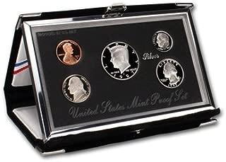 1997 S US Mint 5-Piece PREMIER SILVER PROOF SET Orig Box/COA DCAM