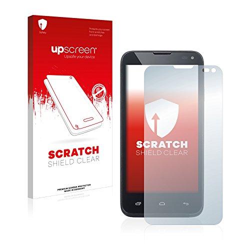 upscreen Schutzfolie kompatibel mit Kazam Th&er 345 – Kristallklar, Kratzschutz, Anti-Fingerprint