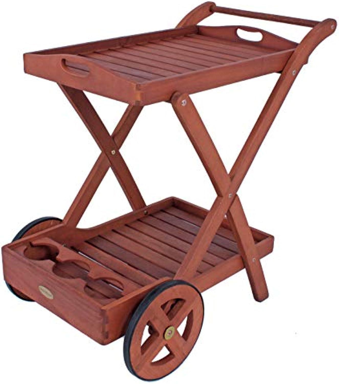 Garden Pleasure Teewagen TOLEDO, mit 2 Etagen gelt