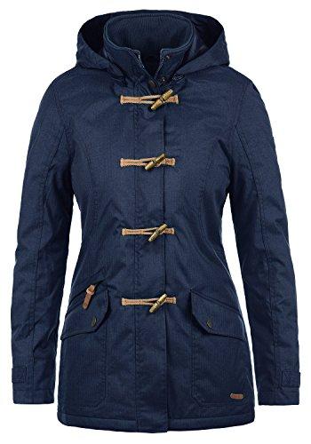 Desires Brooke Duffle-Coat Abrigo Chaqueta De Invierno para Mujer con Cuello Alto, tamaño:S, Color:Insignia Blue (1991)
