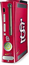 MLB St. Louis Cardinals Xbox 360 (Includes HDD) Skin - St. Louis Cardinals - Solid Distressed Vinyl Decal Skin For Your Xbox 360 (Includes HDD)